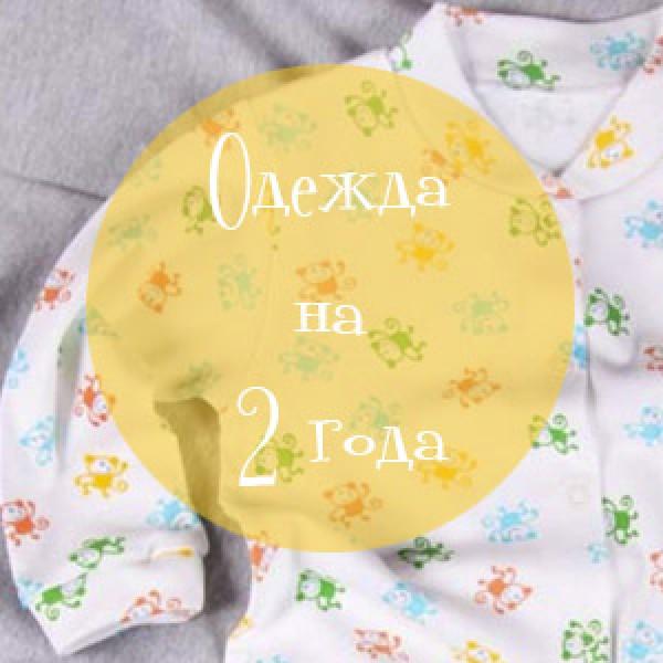 Детская одежда на 2 года
